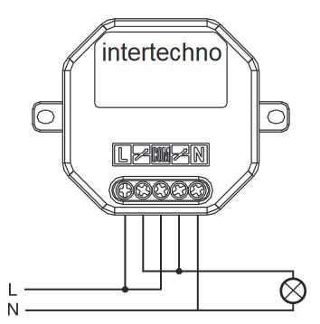 Intertechno CMR-500 Funkeinbauschalter