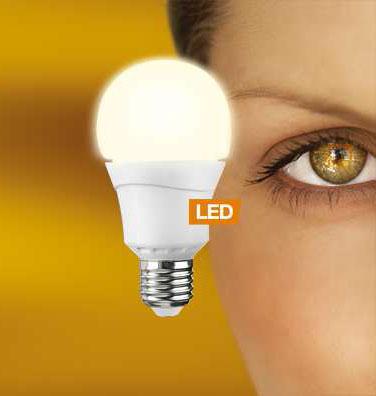 LEDON 10,5 W LED E27 A60 Double Click warm weiß (29001028)