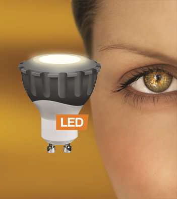 LEDON LED-Spot MR16 GU10 6W 60 Grad dimmbar warm weiß (29001041)
