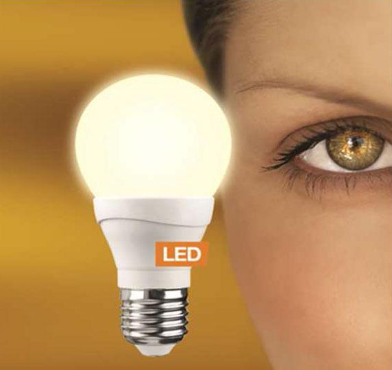 LEDON 7W LED E27 A60 dimmbar warm weiß (28000518)