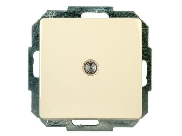 Taster beleuchtbar Serie Paris creme-weiß - Kopp (651373081)