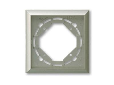 REV Ritter Düwi TerraLuxe 1-fach Rahmen, platin (01265)
