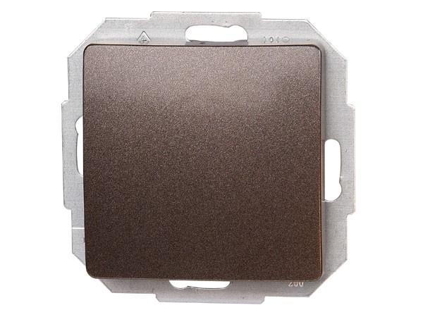 Universalschalter (Aus- und Wechselschalter) Serie Paris palisander-braun - Kopp (650626087)