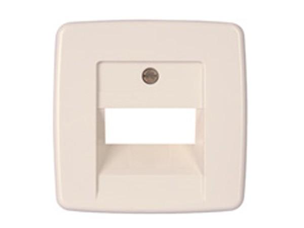 Abdeckung für UAE-Anschlussdose Serie Rivo rein-weiß Kopp (339517187)