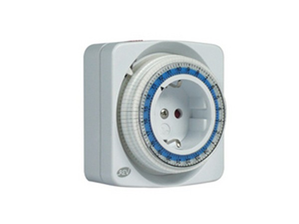 Zeitschaltuhr kompakt mechanisch weiß - REV-Ritter (0025020109)