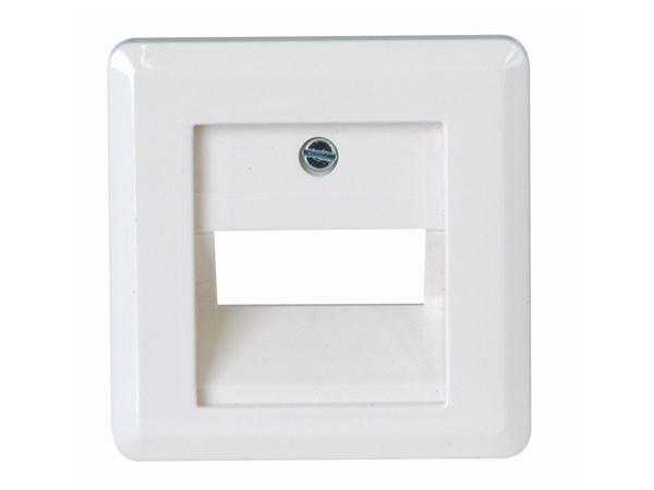 Abdeckung für UAE-Anschlussdose weiß / Serie Milano - Kopp (349513180)