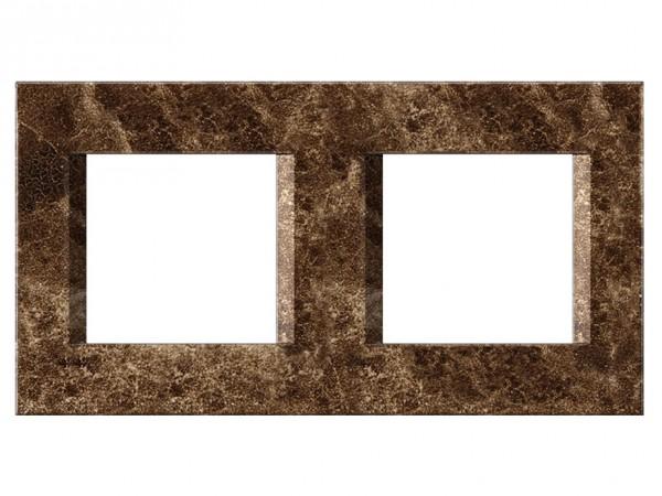 TEM Serie Modul Plus LINE Abdeckrahmen 2x2M steinsmaragd (OL24SE-U)