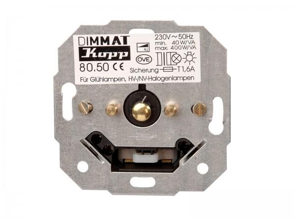 Sockel Tast-Dimmer DIMMAT (Phasenanschnitt) Paris / HK05 / HK07