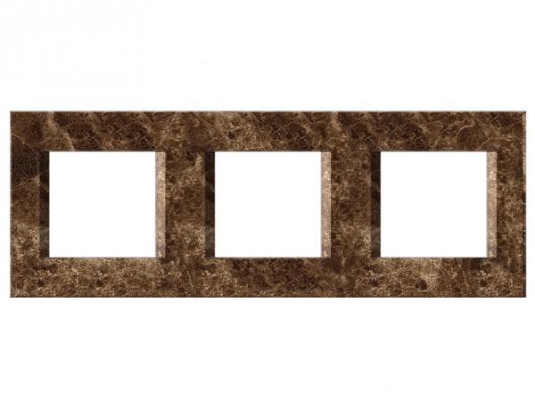 TEM Serie Modul Plus LINE Abdeckrahmen 3x2M steinsmaragd (OL26SE-U)