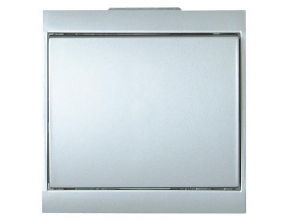 Universalschalter (Aus- und Wechselschalter) silber Serie Malta - Kopp (620620080)