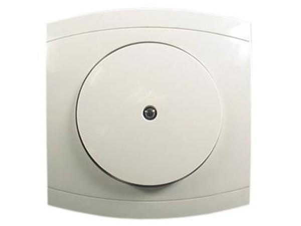 Kontrollschalter-Wechselschalter mit Glimmlampe Serie Modena weiß - REV-Ritter (00854104)