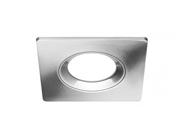 LEDON Einbaurahmen Aluminium gebürstet eckig (28000524)
