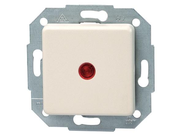 Kontrollschalter beleuchtet Serie Europa creme-weiß Kopp (614601077)