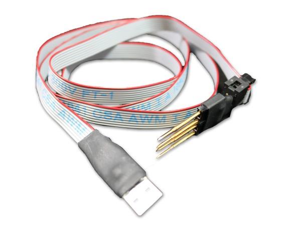 Kabel für Software-Updates am Heat-it Thermostat