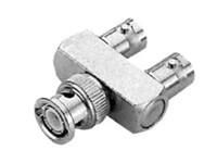 BNC Y-Adapter, 1 x Stecker auf 2 x Kupplung (UG274Y)