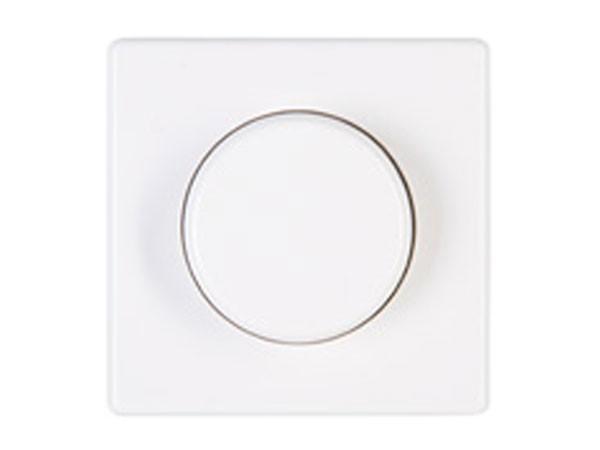 Dimmerabdeckung für Wippen-Wechseldimmer Serie Vision arktis-weiß Kopp (319802180)