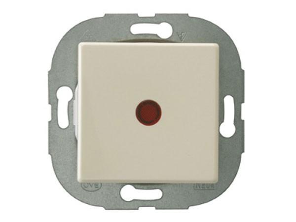 REV Ritter Düwi Standard Quadro Kontroll- Wechselschalter, cremeweiß (00687)