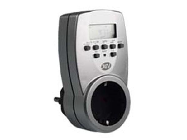 Zeitschaltuhr digital silber - REV-Ritter (0025300703)