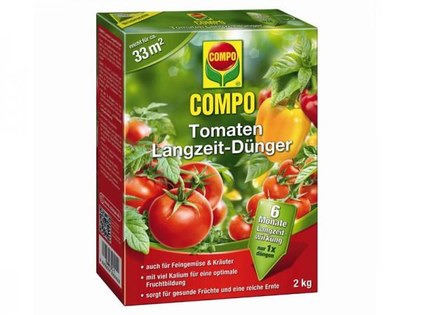 Compo Tomaten Langzeit-Dünger 2 kg (21583)