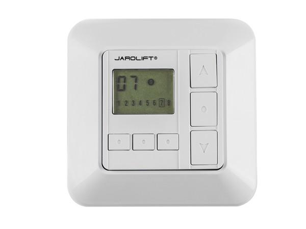 Jarolift Funkwandsender mit Display 8-Kanal TDRC 08W
