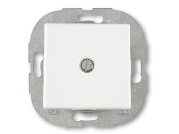 REV Ritter Düwi Trend Kontroll-Wechselschalter mit Glimmlampe, brillantweiß (41190)