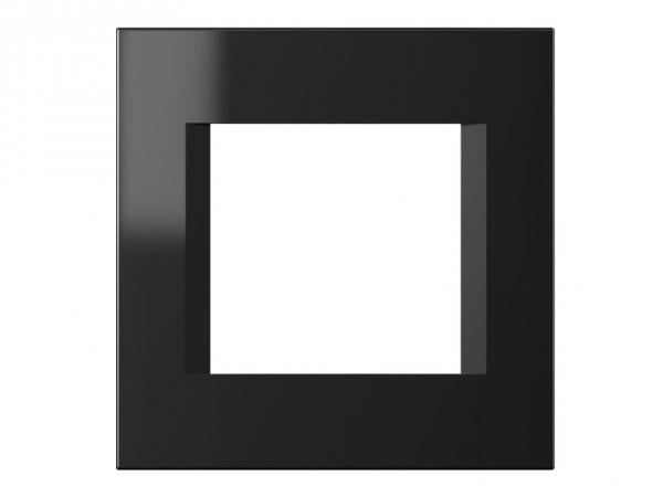 TEM Serie Modul Plus LINE Abdeckrahmen 2M schwarz matt (OL20SB-U)