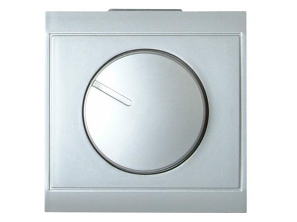 Druck-Wechsel-Dimmer (Phasenanschnitt) Serie Malta silber - Kopp (803820081)