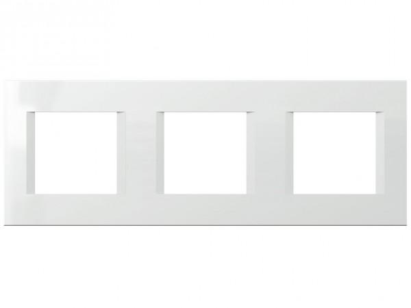 TEM Serie Modul Plus LINE Abdeckrahmen 3x2M polar weiß (OL26PW-U)