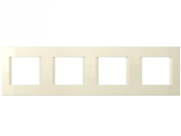 TEM Serie Modul Plus LINE Abdeckrahmen 4x2M beige (OL28IW-U)