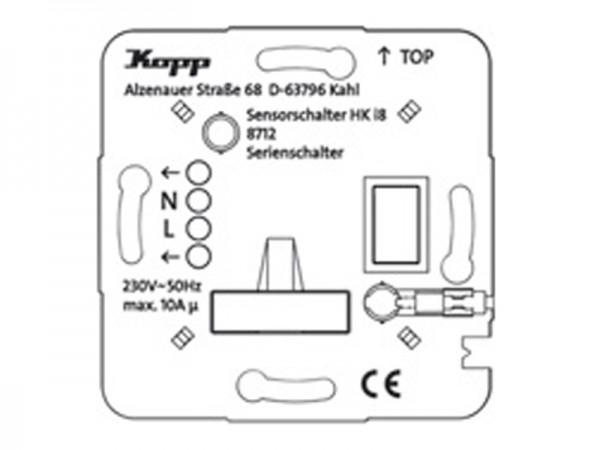 HK i8 UP-Leistungsteil Serienschalter Kopp (871200010)