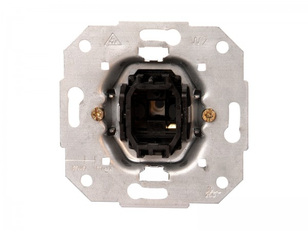 Taster (Schließer) Sockel 10A, 250V~ Paris / HK05 / HK07