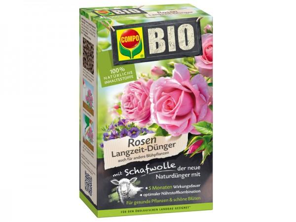 Compo Bio Rosen Langzeit-Dünger mit Schafwolle 2 kg (20292)