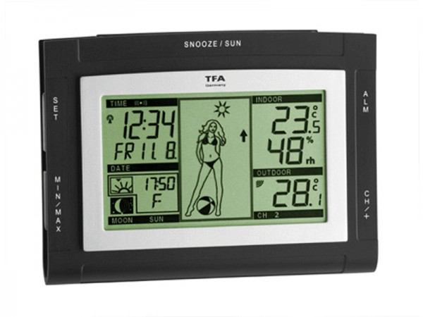 TFA 35.1064.01.51.IT Weather PAM XS Funk-Wetterstation