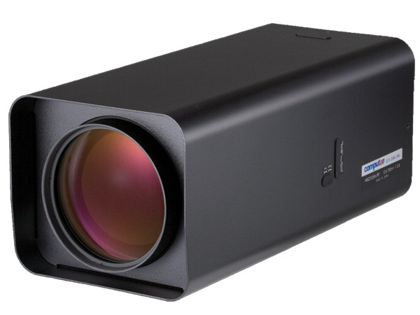 Computar THRU Vision H60Z1238A-IRF 60x Motor-Zoomobjektiv (Tag/Nacht) mit Nebel-Filter und videogest