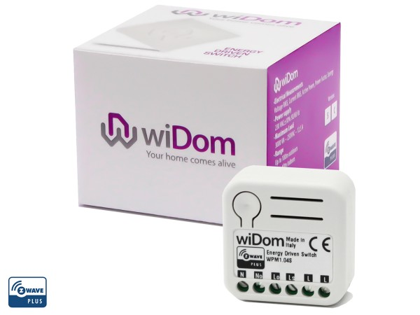 Z-Wave wiDom ENERGY DRIVEN SWITCH Versino S (widewpss)