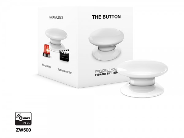 FIBARO The Button Zwave Plus weiss
