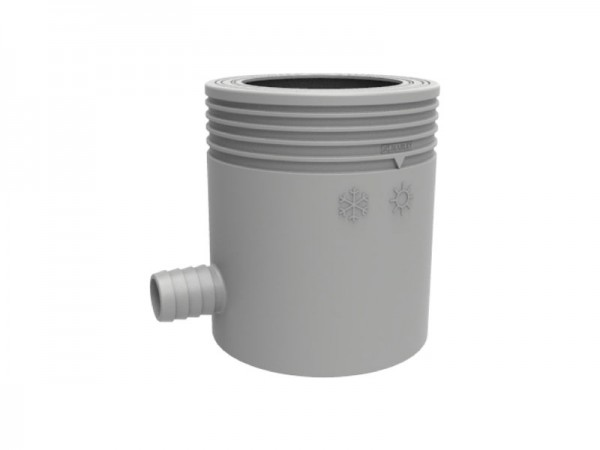 Marley Regensammler mit Filter und Überlaufstop grau (074634)