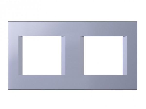 TEM Serie Modul Plus LINE Abdeckrahmen 2x2M impulse blau (OL24IB-U)