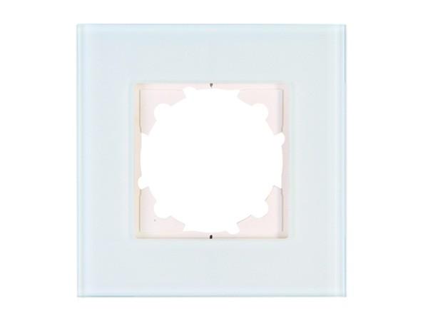 Abdeckrahmen 1-fach aus Glas mint Serie Athenis - Kopp (405308011)