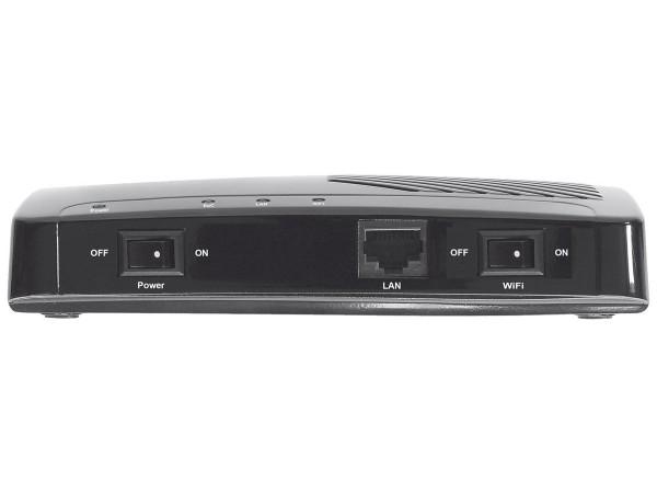 Axing EOC 2-01 Ethernet over Coax Netzwerk via Koaxialkabel Einzeladapter mit WLAN (500Mbps, WiFi)