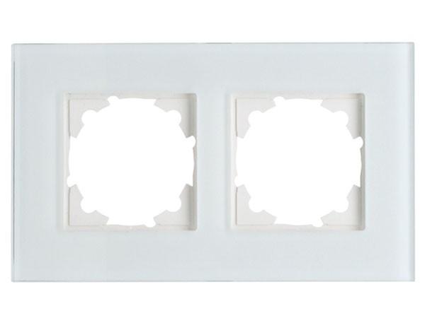 Glas-Abdeckrahmen 2-fach Objekt HK 07 Kopp (405408007)