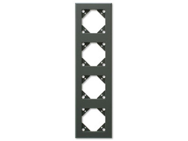 REV Ritter Düwi Trend 4-fach Rahmen, coolgray (41443)