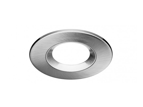 LEDON Einbaurahmen Aluminium gebürstet rund (28000525)