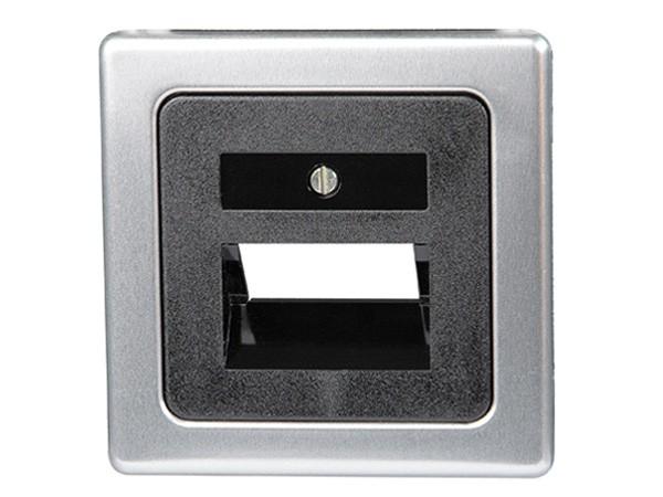 Abdeckung für UAE-Anschlussdose stahl Serie Vision - Kopp (346620184)