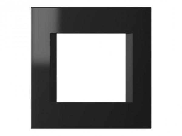 TEM Serie Modul Plus LINE Abdeckrahmen 2M schwarz-glanz (OL20NB-U)