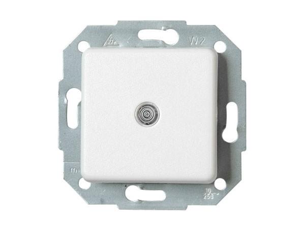 Universalschalter (Aus- und Wechselschalter) beleuchtet mit Serie Europa arktis-weiß Kopp 613698083