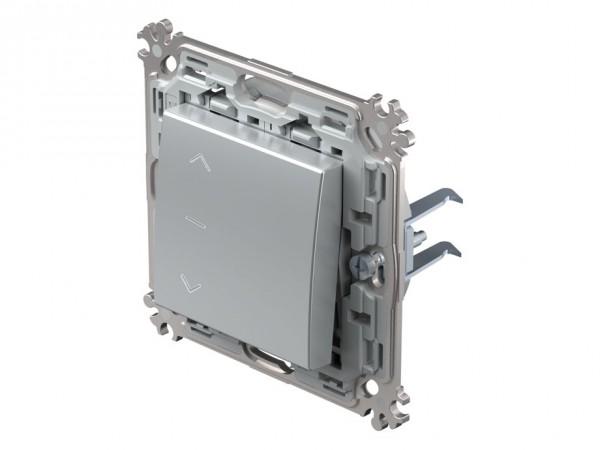 TEM Serie Modul Plus Jalousieschalter silber (CS40ESXO10-D)
