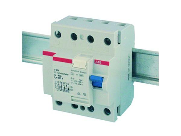 Fehlerstromschutzschalter (RCD), 4-polig, 40A, 30mA - ABB (15495)