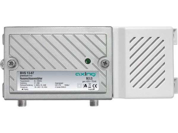 Axing BVS 13-67 Hausanschlussverstärker mit aktivem Rückkanal 5-65 MHz (30dB, 1006MHz, 100dBµV)