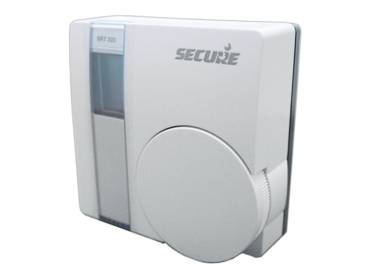 z wave secure elektronisches raumthermostat mit temperatursensor secesrt323 home4u. Black Bedroom Furniture Sets. Home Design Ideas